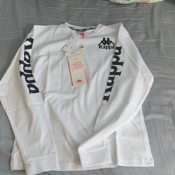 Kappa White Long Sleeve | Brand New With Tag | S